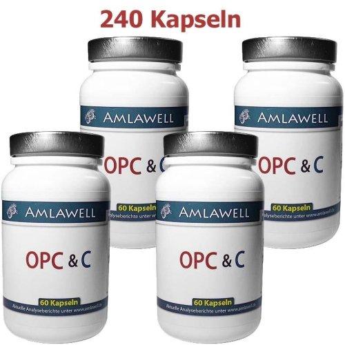 Amlawell OPC & C / 240 Kps. a 700mg / 8 Monate