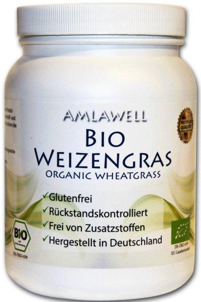 Bio-Weizengraspulver 500g, Dose / deutscher Anbau / DE-ÖKO-039