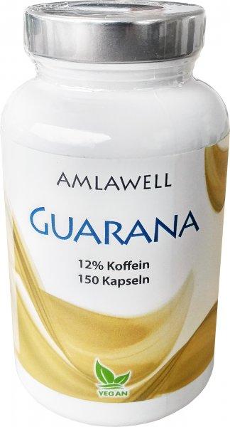 Guarana Kapseln, 150 Stück