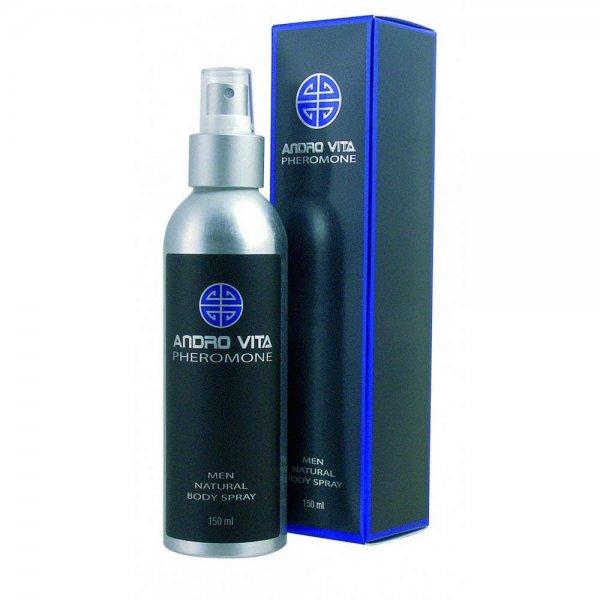 ANDRO VITA Pheromone for men, duftneutral, Bodyspray 150ml