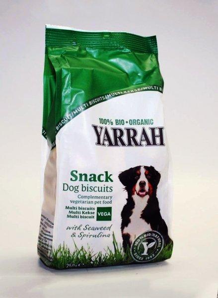 Bio-Hundekekse / Snack VEGA mit Spirulina und Meeresalge 250g