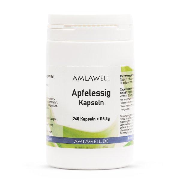 Amlawell Apfelessig Kapseln / 260 Stück