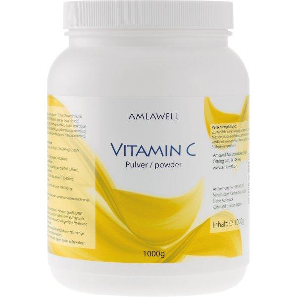 Amlawell Vitamin C Pulver / 1 kg Dose