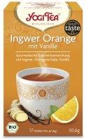 Ingwer Orange von Yogi Tea