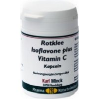 Rotklee Isoflavone plus Vitamin C Kapseln, 60 Kapseln