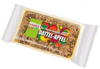 Dattel-Apfel - Rohkost-Kugeln