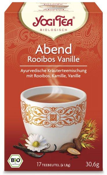 YOGI TEA Abend Tee Rooibos Vanille