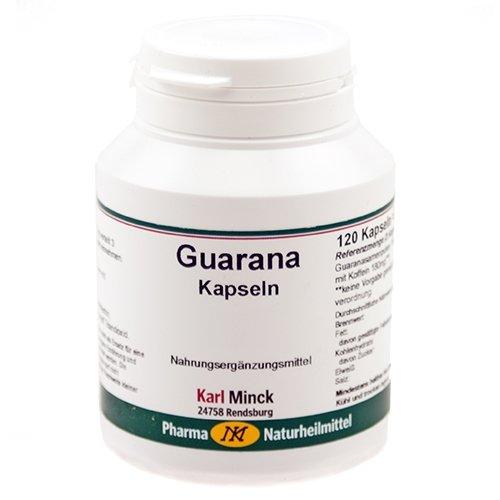 Guarana Pur 500 Kapseln, 120 Kapseln