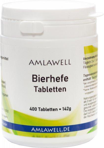 Bierhefe Tabletten, 400 Tabletten