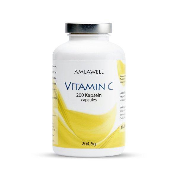 Amlawell Vitamin C Kapseln / 200 Stück
