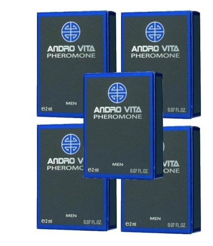 ANDRO VITA Pheromone for men, 5 x 2ml