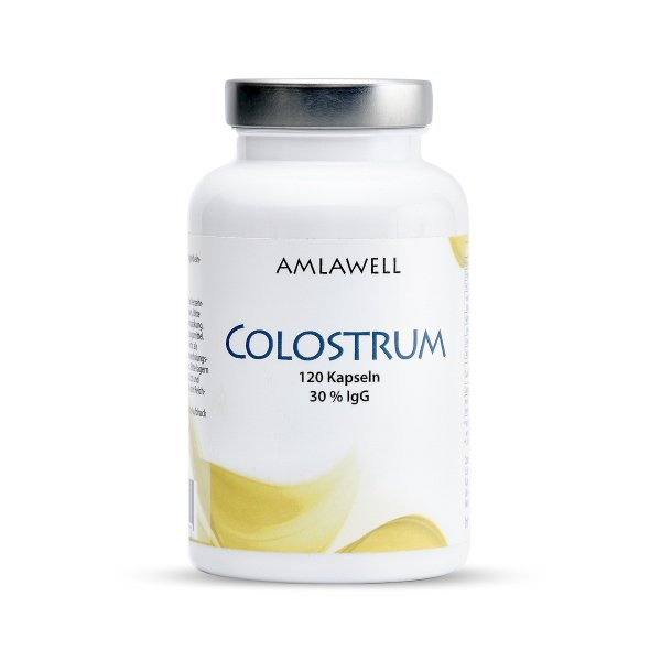 Amlawell Colostrum / 120 Kapseln