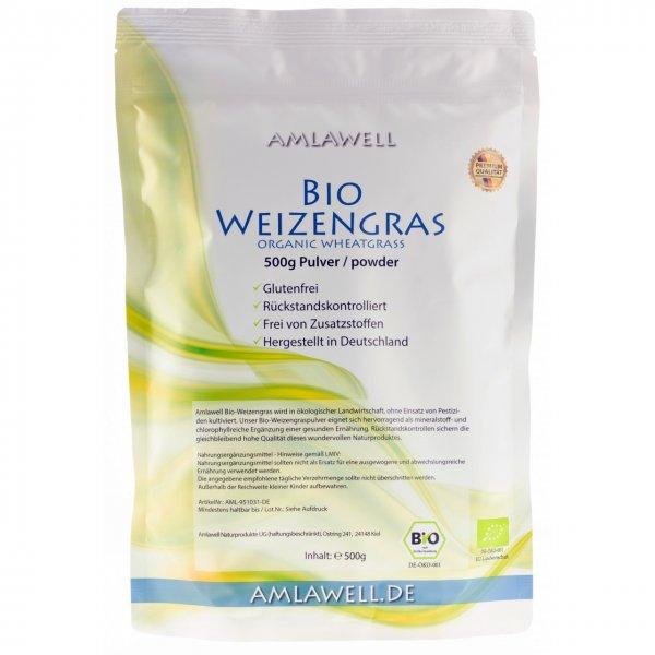 Amlawell Bio Weizengras Pulver