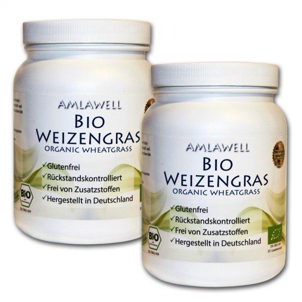 Bio-Weizengraspulver 1000g / deutscher Anbau / Rohkostqualität / DE-ÖKO-039