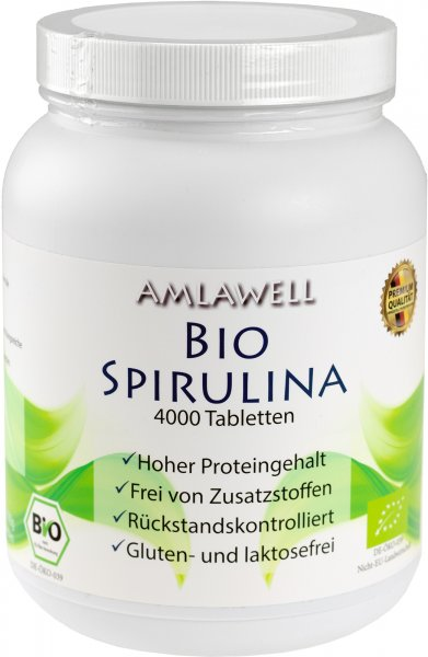 Amlawell Bio-Spirulina 1000g