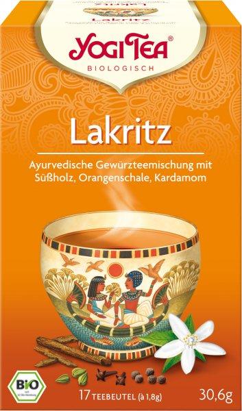 YOGI TEA Lakritz Bio Tee (17 Beutel)