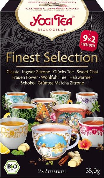 YOGI TEA Finest Selection Tee (9 Beutel), bio