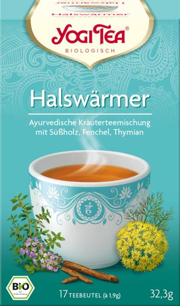 YOGI TEA Halswärmer Bio Tee (17 Beutel)
