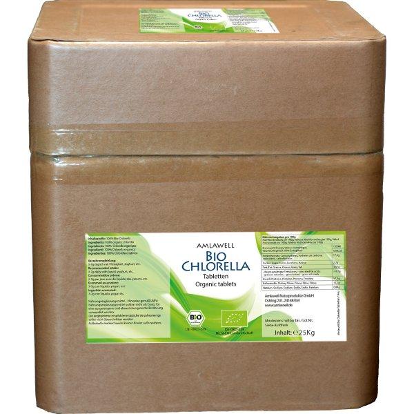 Amlawell Bio Chlorella Tabletten / 25 kg / DE-ÖKO-039