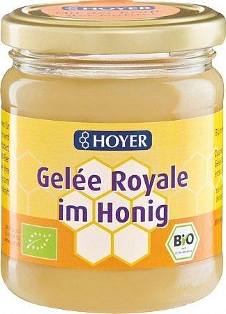 Bio-Gelée Royale im Honig, cremig, 250g