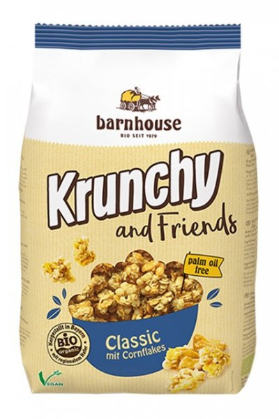 Bio Krunchy and Friends Classic mit Cornflakes