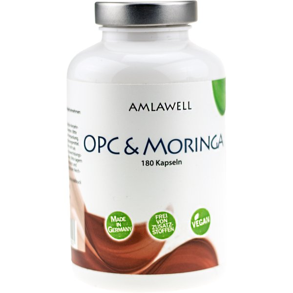 Amlawell OPC & Moringa / 180 Kapseln