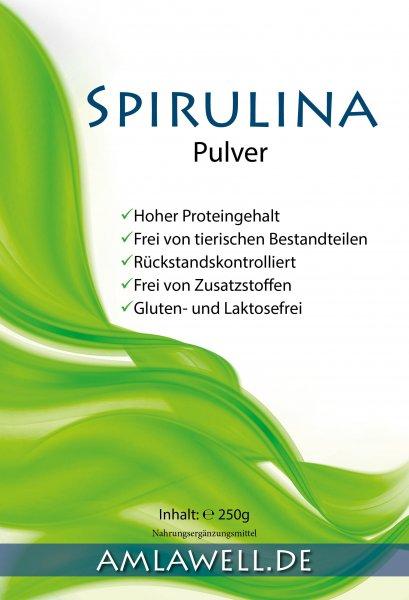 Amlawell Spirulina Pulver