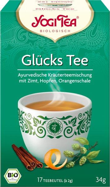 YOGI TEA Glücks Bio Tee (17 Beutel)