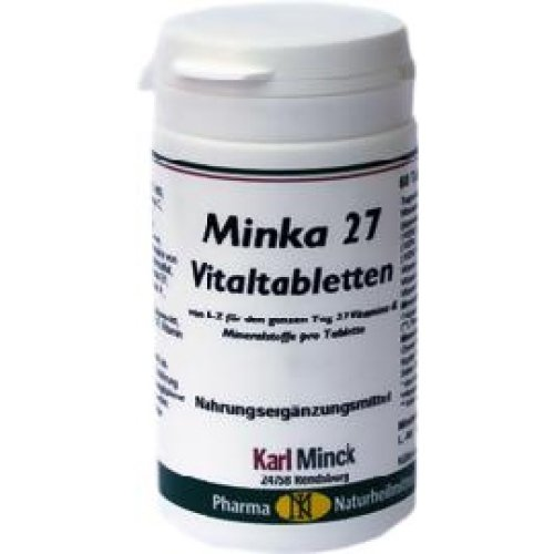 Vitaltabletten von A-Z für den ganzen Tag, 60 Tabletten