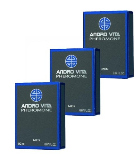 ANDRO VITA Pheromone for men, 3 x 2ml