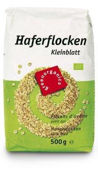 Bio Haferflocken, Kleinblatt