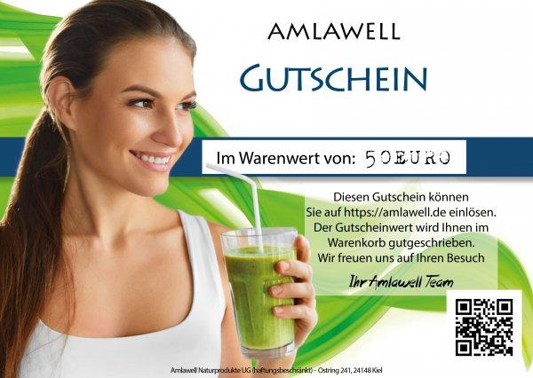 Amlawell-Gutschein - 50 Euro