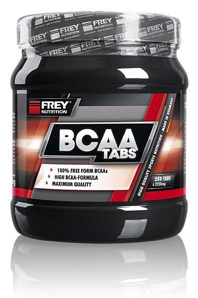 Frey Nutrition BCAA Tabs 250 Caps
