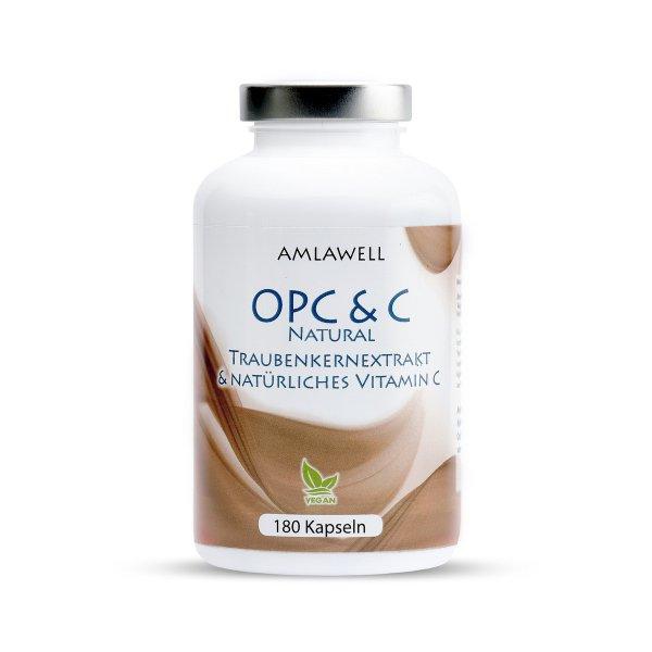 Amlawell OPC & C Natural / 180 Kapseln