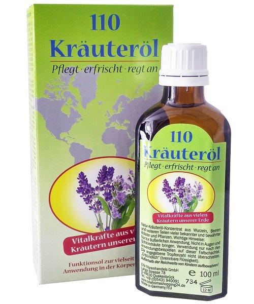 110 Kräuteröl / 100 ml