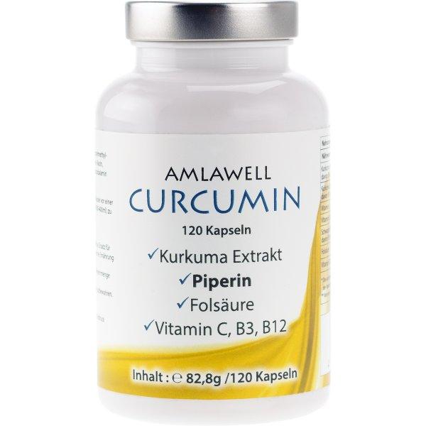 Curcumin, 82.8g / 120 Kapseln