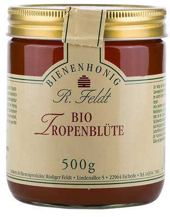 Bio Tropenblüten Honig
