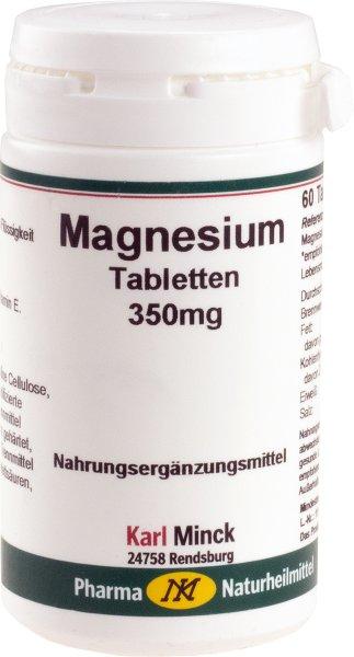 Magnesium Tabletten, 60 Stück