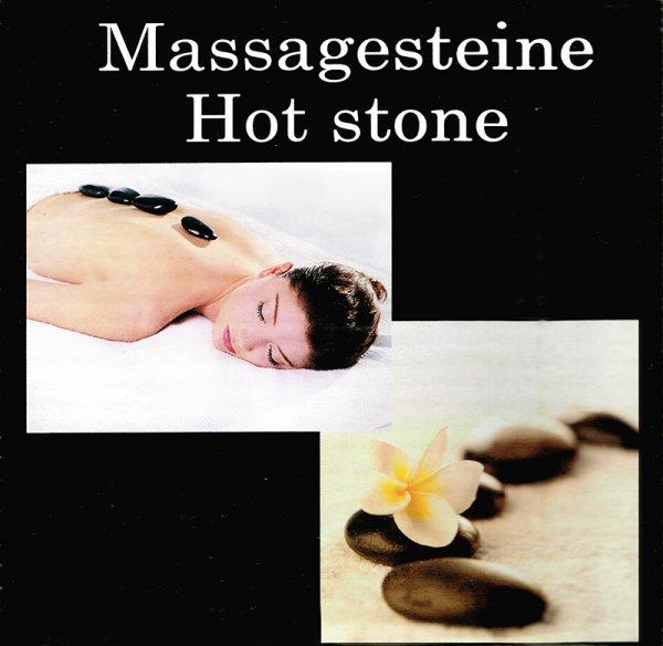 Massagesteine - Hot Stone